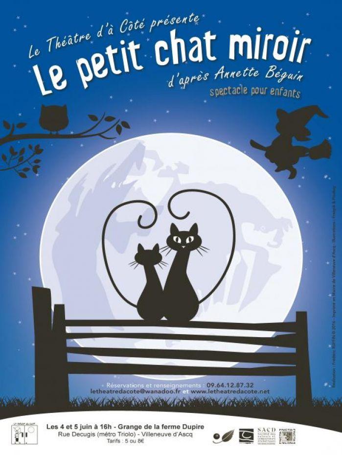 Le petit chat miroir de annette b guin le guide culturel for Miroir des chats
